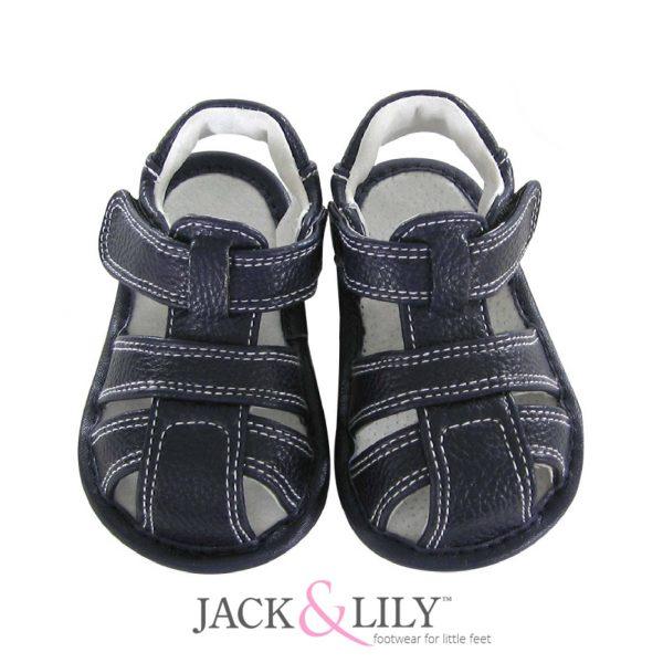 סנדל כחול כהה- shoes