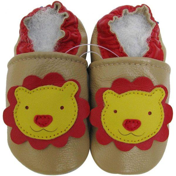 נעלי טרום הליכה אריה שמנת צהוב