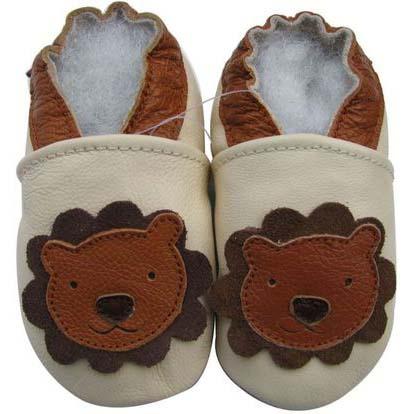 נעלי טרום הליכה אריה שמנת חום