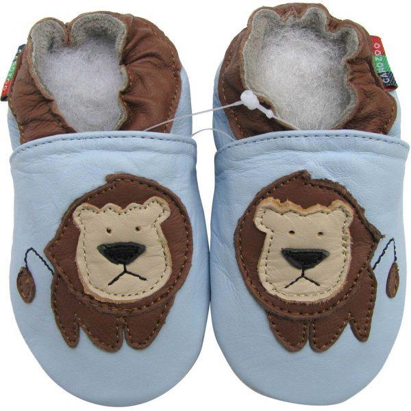 נעלי טרום הליכה אריה תכלת