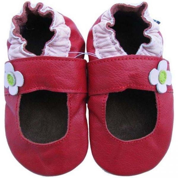 נעלי טרום הליכה בלרינה אדום