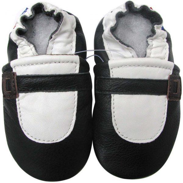 נעלי טרום הליכה בלרינה שחור