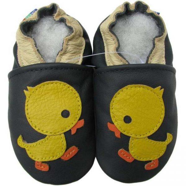 נעלי טרום הליכה ברווז כחול כהה
