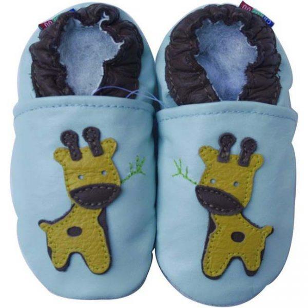 נעלי טרום הליכה ג'ירף תכלת