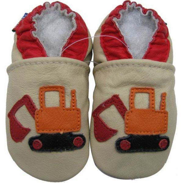 נעלי טרום הליכה דחפור שמנת