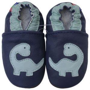 נעלי טרום הליכה דינוזאור כחול