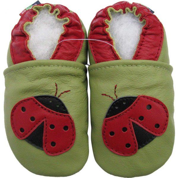 נעלי טרום הליכה חיפושית ירוק