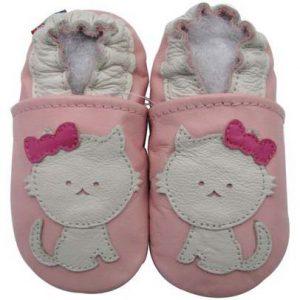 נעלי טרום הליכה חתול ורוד