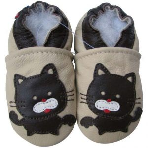 נעלי טרום הליכה חתול שמנת