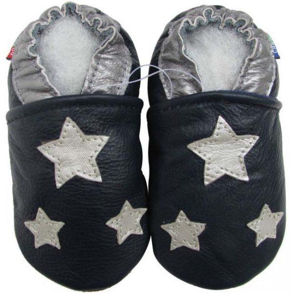 נעלי טרום הליכה כוכבים- כחול