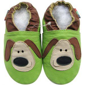 נעלי טרום הליכה כלבלב - ירוק