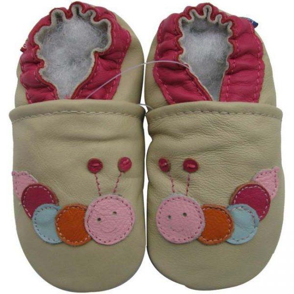 נעלי טרום הליכה מרבה רגליים שמנת