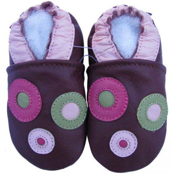נעלי טרום הליכה עיגולים סגול