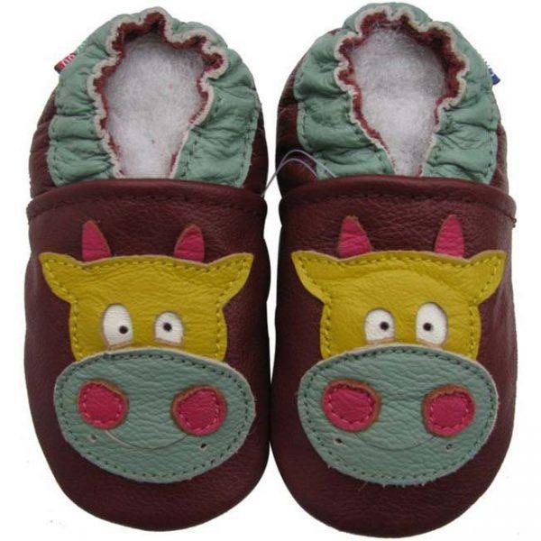 נעלי טרום הליכה פרה - חום