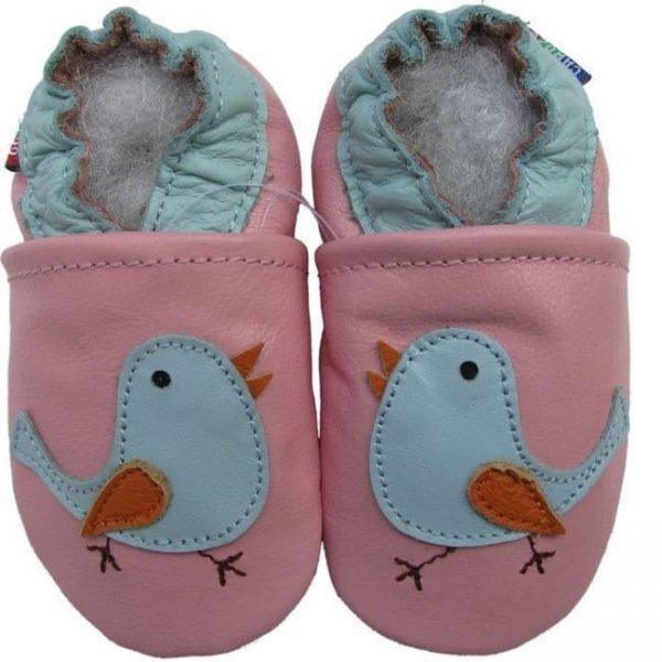 נעלי טרום הליכה ציפור ורוד