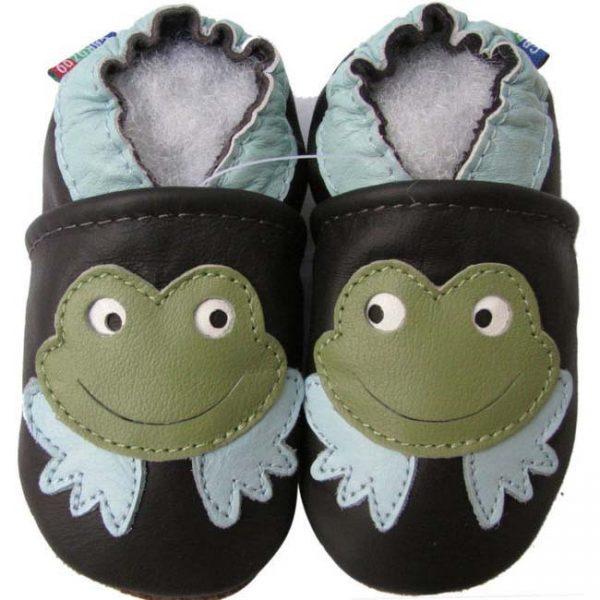 נעלי טרום הליכה צפרדע חום