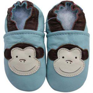נעלי טרום הליכה קוף תכלת