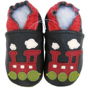 נעלי טרום הליכה רכבת שחור