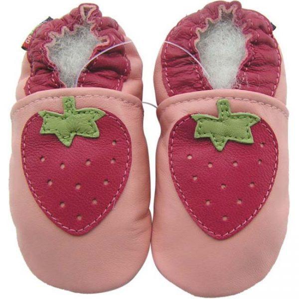נעלי טרום הליכה תות ורוד