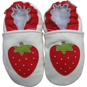 נעלי טרום הליכה תות לבן