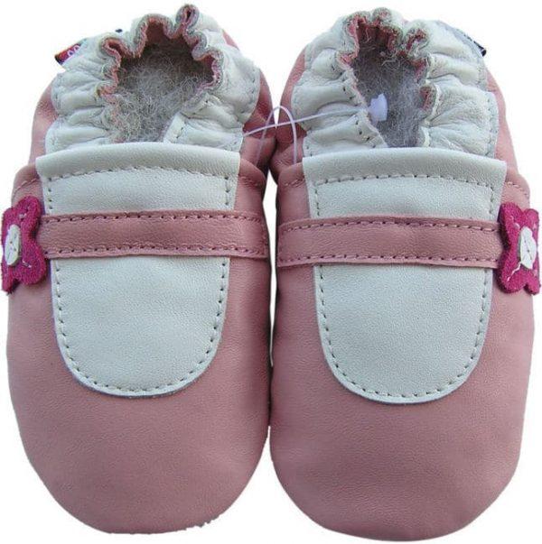 נעלי טרום הליכה בלרינה ורוד